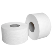 Туалетная бумага в рулонах  JUMBO - 100% целлюлоза, на гильзе, для диспенсеров