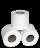 Туалетная бумага в стандартных рулонах 100% целлюлоза на гильзе