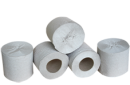 Туалетная бумага в стандартных рулонах из вторичного сырья с гильзой и без нее
