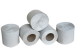 Туалетний папір в стандартних рулонах з вторинної сировини з гільзою і без неї